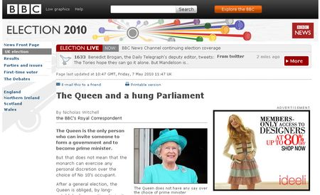 The Queen and Parliament