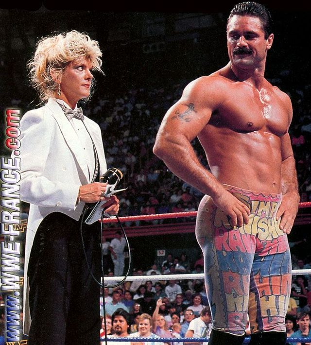 ... saying) everyone else in Pro Wrestling was gay when what he really meant ...